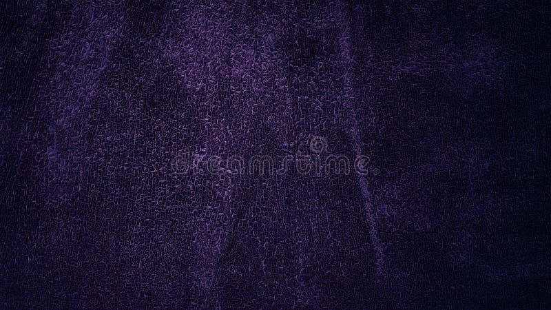 Texture épluchée de peau sous la lumière bleue molle Vieille surface criqu?e L'écaillement âgé a teint la texture en cuir photos stock