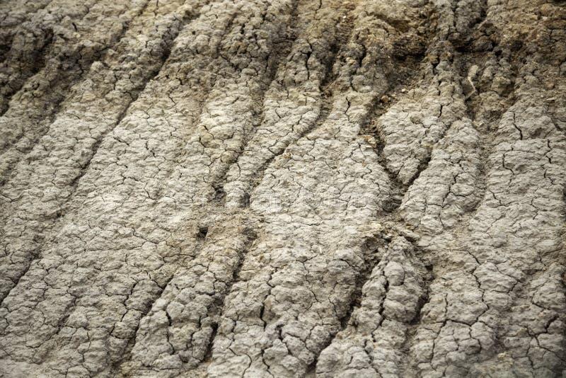 Texture érodée de la terre photo libre de droits