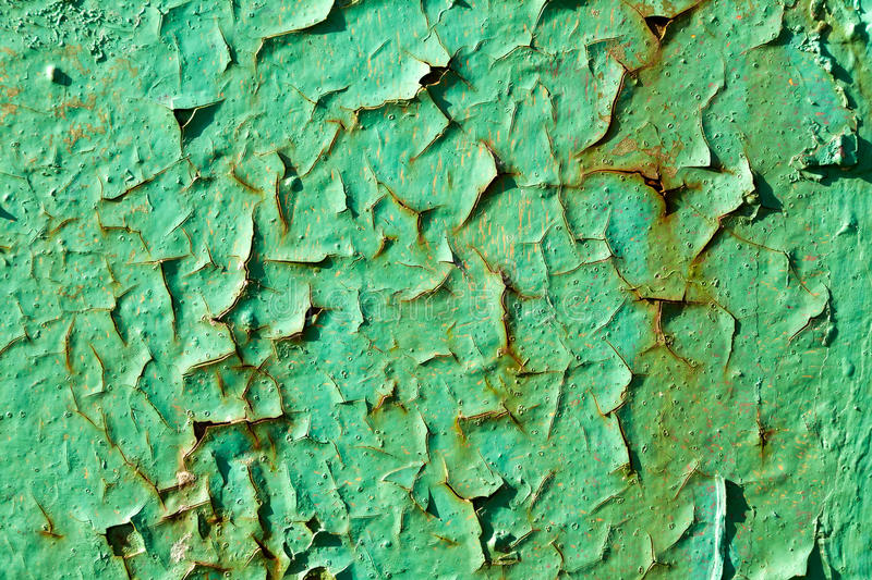 Texture. The texture of an old chipping painted wall stock image