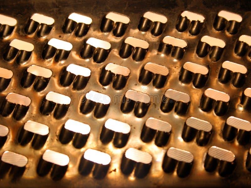 Texture 3 de perforation images stock