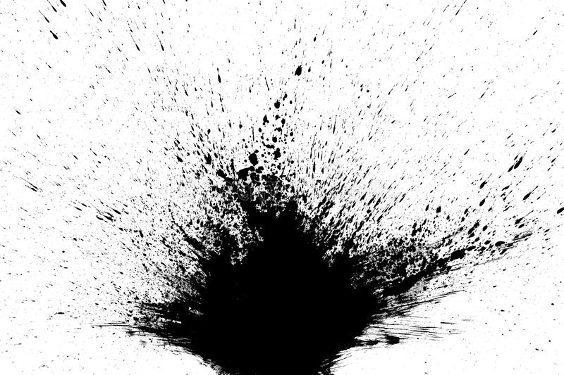 Texture abstract japanese ink on white paper Background. For web,game design, design cover, presentation, invitation, flyer, poster, Dark Smear , wallpaper stock image