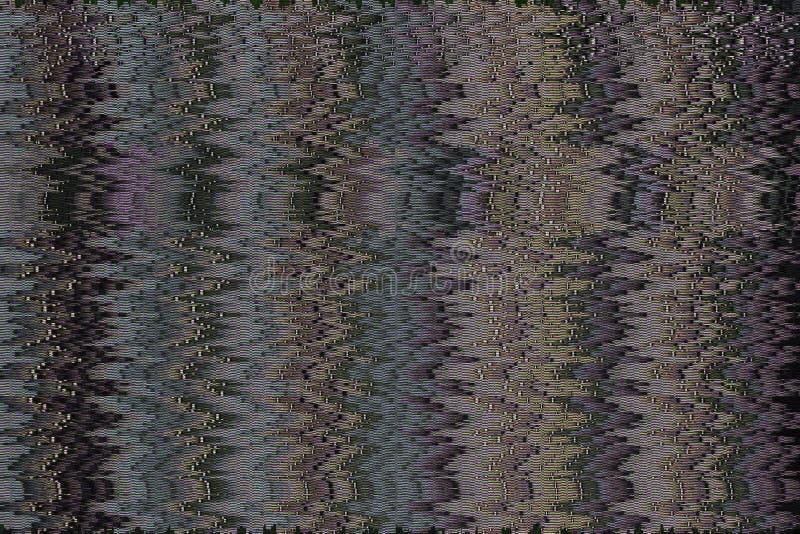 Texture abstraite avec l'erreur visuelle de problème pour le fond images stock