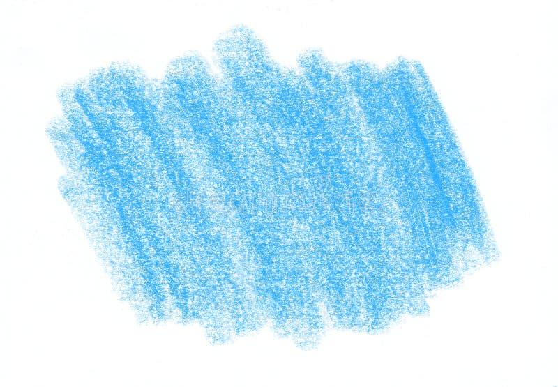 Texture abstraite bleue naturelle de crayon illustration stock