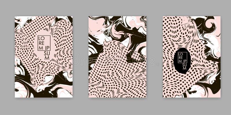 Texture abstraite colorée Fond créateur illustration de vecteur