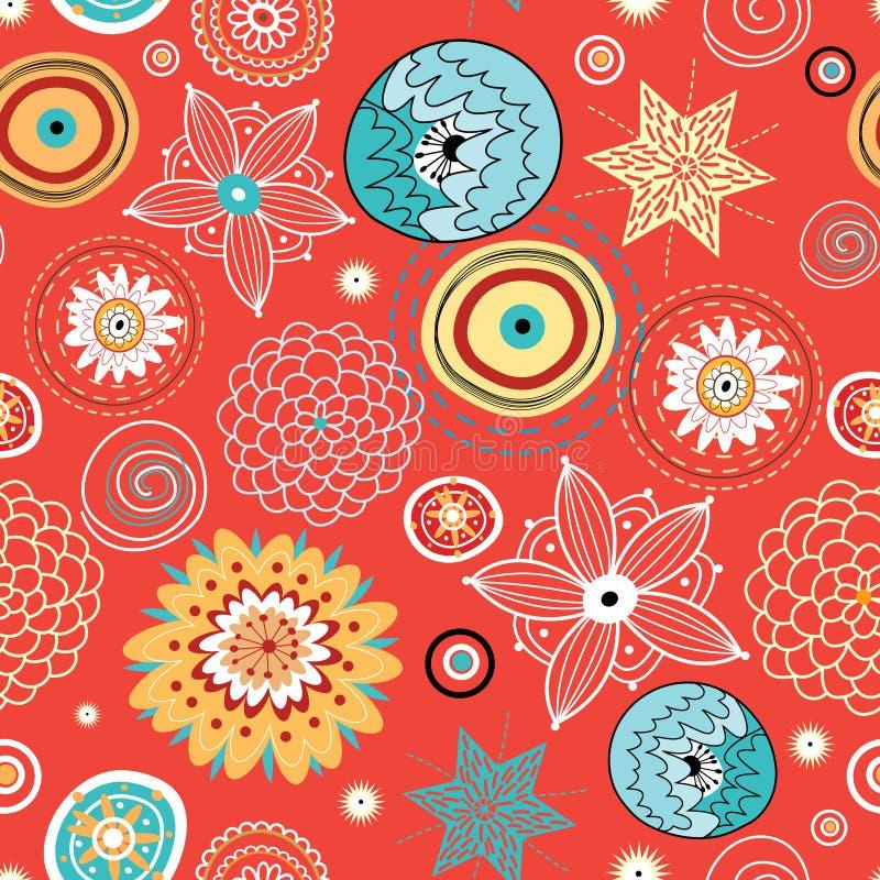Texture abstraite d'automne illustration libre de droits