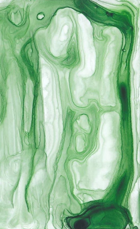 Texture abstraite d'encre Fond lumineux d'aquarelle pour vos conceptions Art moderne illustration libre de droits