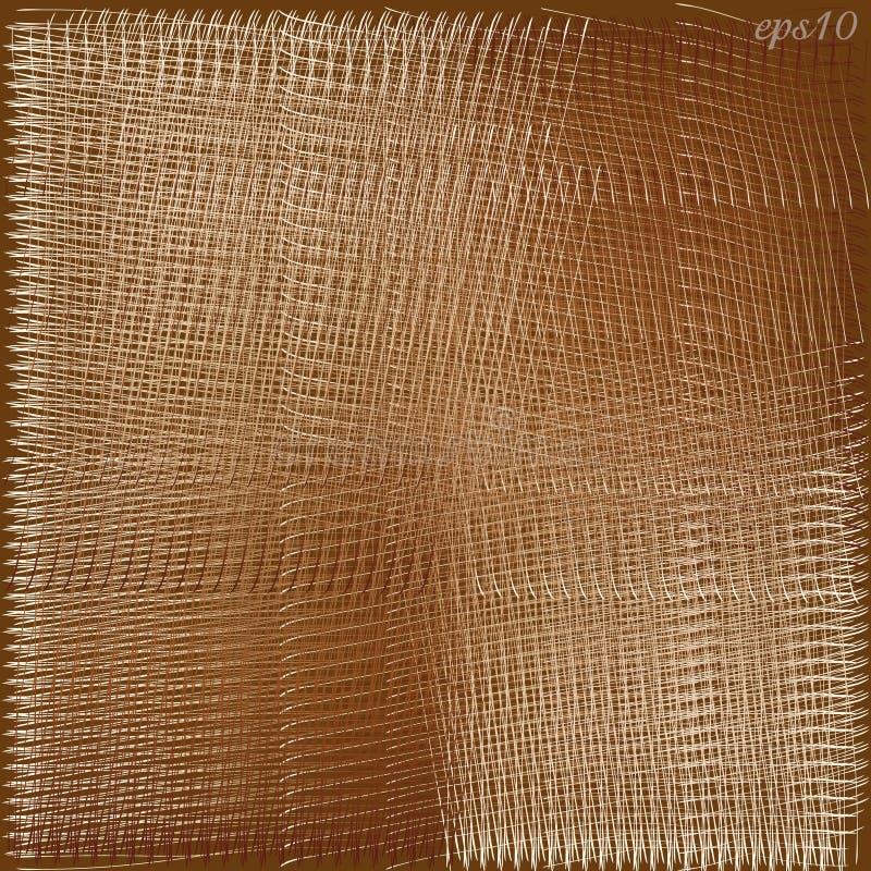 Texture abstraite de Brown illustration libre de droits