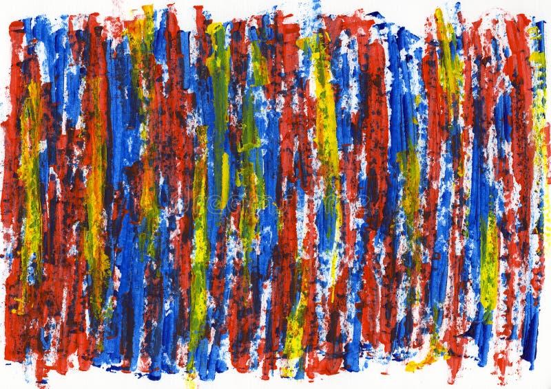 Texture abstraite de couleur de peinture, fond acrylique de couleur, couteau photos libres de droits