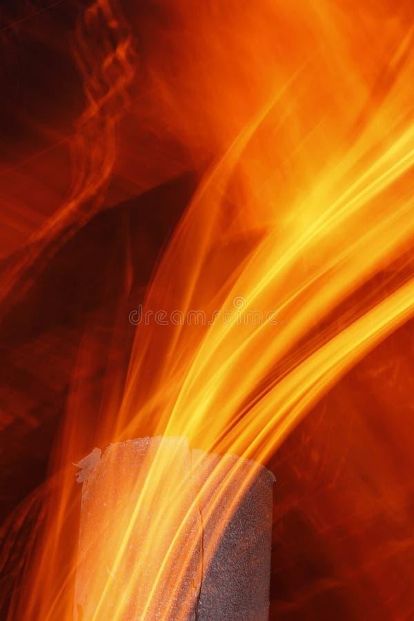 Texture abstraite de flamme photo libre de droits