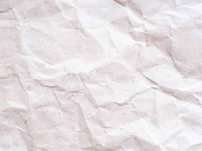 Texture abstraite de fond de papier de Brown emballage photos stock
