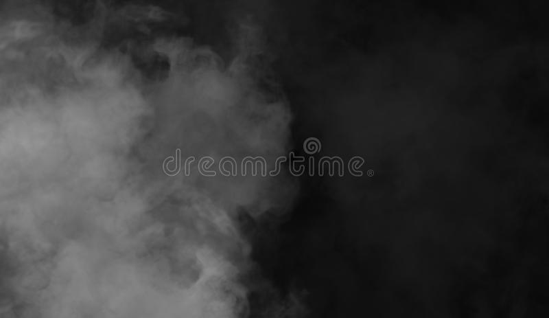 Texture abstraite de fumée Fond de brouillard de mystère image stock