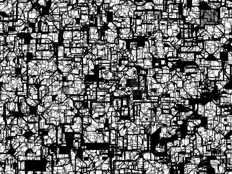 Texture abstraite de maille avec pipe-comme le Web illustration de vecteur