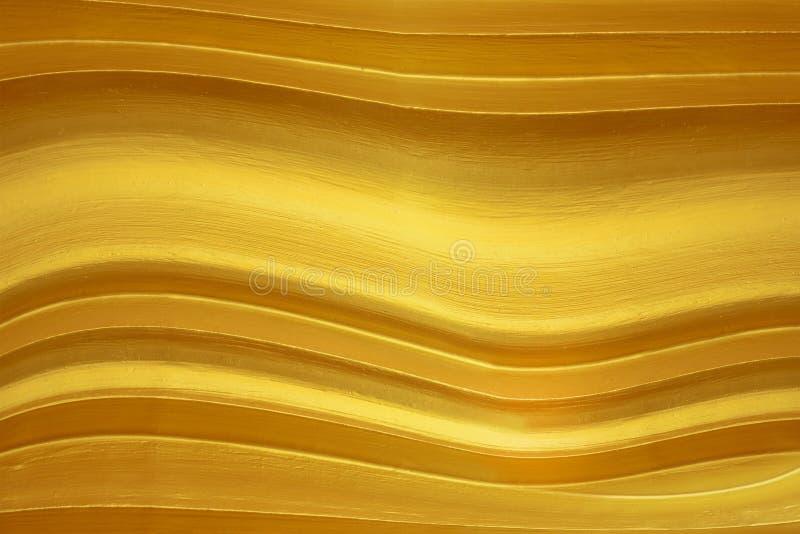 Texture abstraite de modèle d'or photographie stock