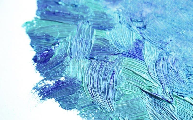 Texture abstraite de peinture ? l'huile sur la toile, fond photo libre de droits