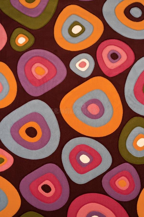 Texture abstraite de tapis de la géométrie photographie stock libre de droits