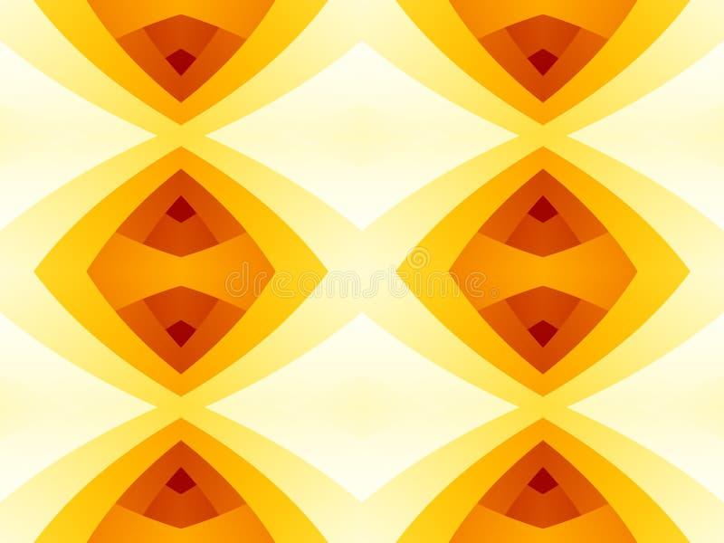 Texture abstraite moderne rouge de jaune orange Illustration simple de fond illustration de vecteur