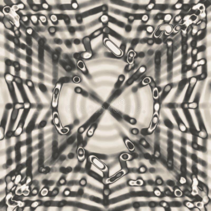 Texture abstraite monochromatique de recouvrement de bokeh photo stock