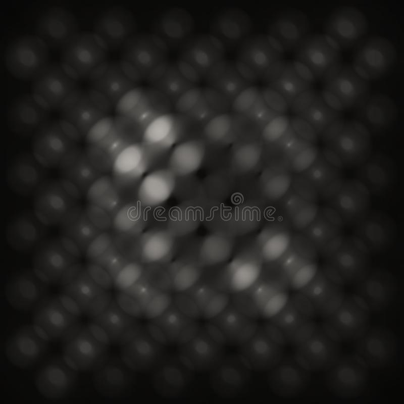 Texture abstraite monochromatique de recouvrement de bokeh photo libre de droits
