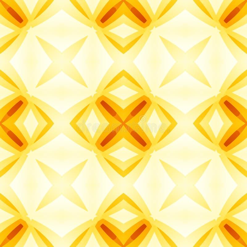 Texture abstraite rouge jaune-orange Illustration optimiste et énergique de fond Tuile sans couture lumineuse Desi à la maison de illustration de vecteur