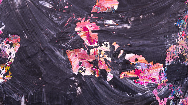 Texture acrylique abstraite image stock
