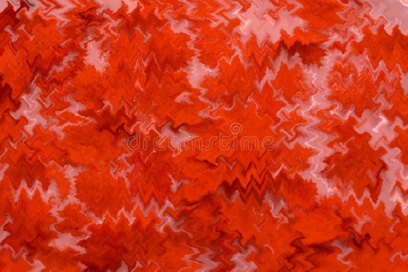Texture acrylique de peinture d'abrégé sur rouge fond chaude images stock
