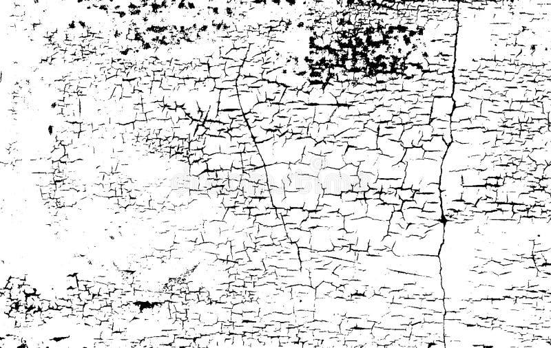Download Texture Affligée De Recouvrement De Métal De La Poussière, Béton épluché Criqué Illustration de Vecteur - Illustration du halftone, grunge: 77151074