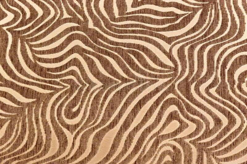 Texture africaine tropicale de fourrure Fond exotique Fond beige de Brown Mod?le, fond de nature, ornement tribal images libres de droits