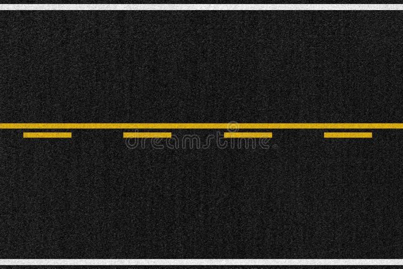 Texture américaine d'asphalte de route illustration libre de droits