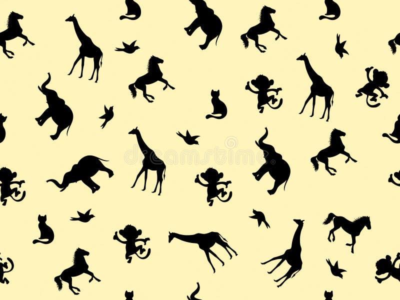 Texture animale, modèle photographie stock