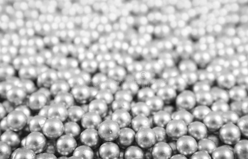 texture argentée de boules photographie stock