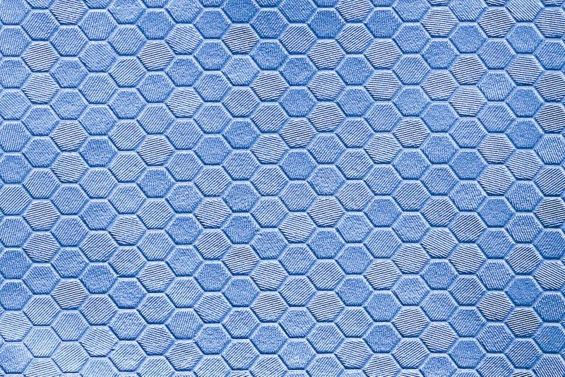 Texture argentée en métal d'une pluralité d'hexagones une couleur grise de beau contexte photo libre de droits