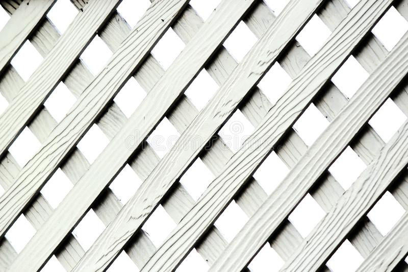 Texture of Artificial Wood Lattice Fence royalty free stock photography