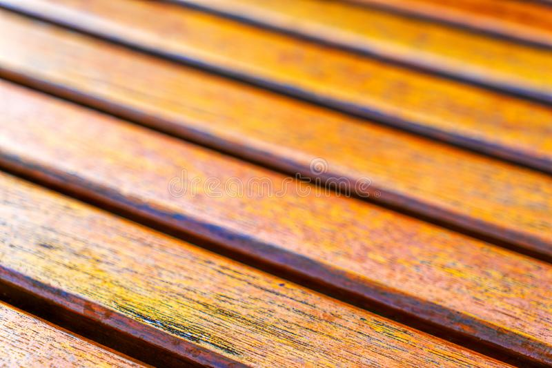 Wooden slats. Natural wood lath line arrange pattern texture bac. Texture as a design element, wooden battens fixed next to each other royalty free stock image