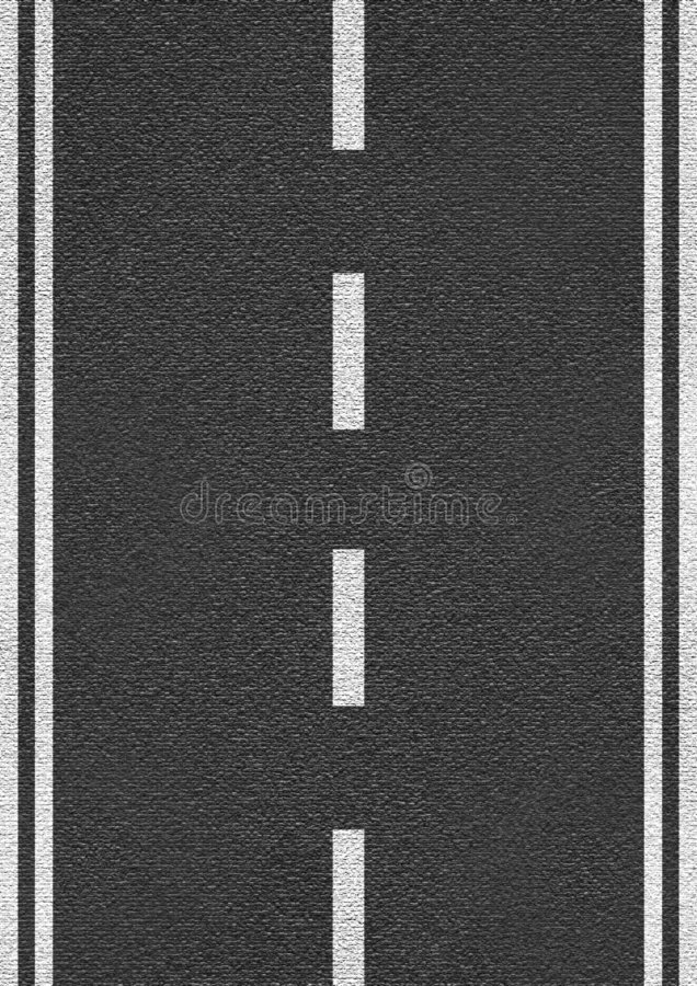 Texture of asphalt. Highly detailed structure with a marking royalty free stock photography