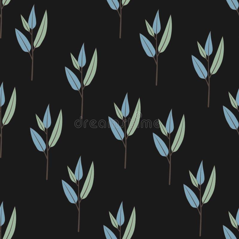 Texture avec des fleurs et des plantes Configuration 08 Modèle de fleurs original photos stock