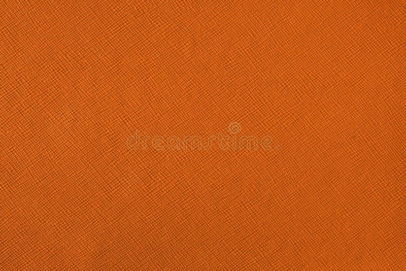 Texture avec un modèle d'une pluralité de lignes Fond orange coloré photographie stock
