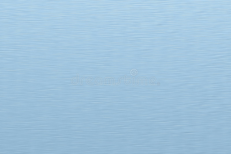 Texture azure metal. 3D texture generated by a computer. High realistic imitation of machined metal. Azure color stock illustration
