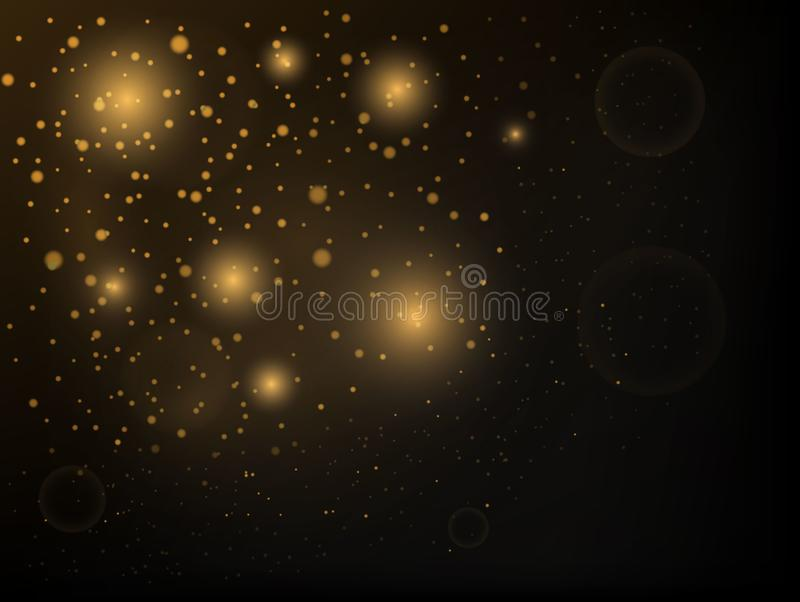 Texture background abstract black and white or silver Glitter and elegant for Christmas. royalty free illustration