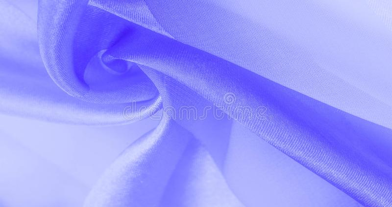 Texture, background, blue silk striped fabric with a metallic sheen. If you have a bad mood, this fabric will lift it to. Unprecedented heights. Your project royalty free stock images