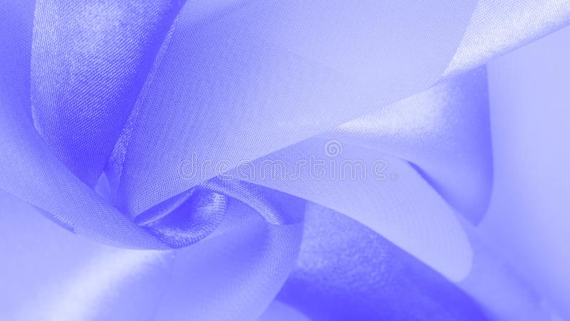 Texture, background, blue silk striped fabric with a metallic sheen. If you have a bad mood, this fabric will lift it to. Unprecedented heights. Your project stock image