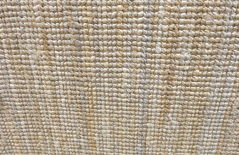 Texture Background of A Brown Fabric Doormat. Background Pattern, Horizontal Texture of Brown Weaving Fabric Doormat with Copy Space for Text Decoration royalty free stock images