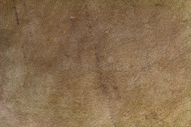 Texture background of brown leather made of goat skin stock photos