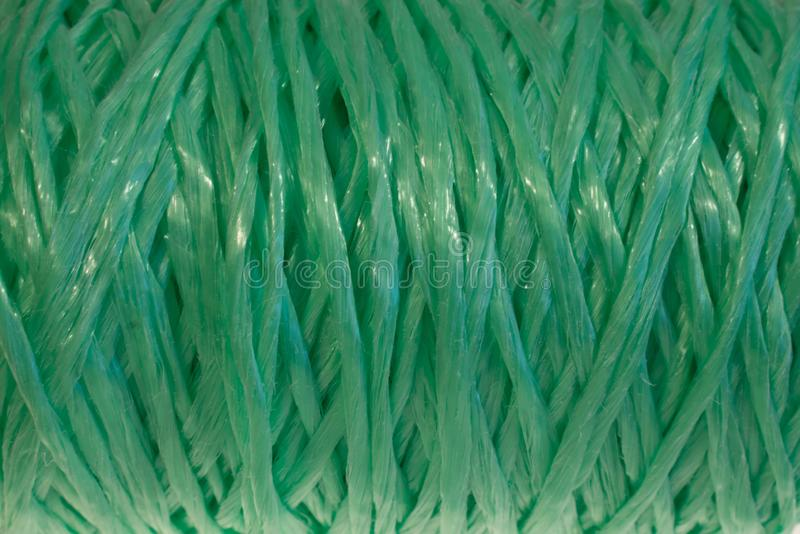 Texture background green thread weave royalty free stock images