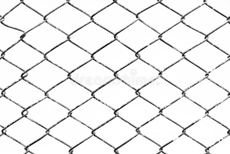 Texture background of mesh grilles, black and white. stock photography