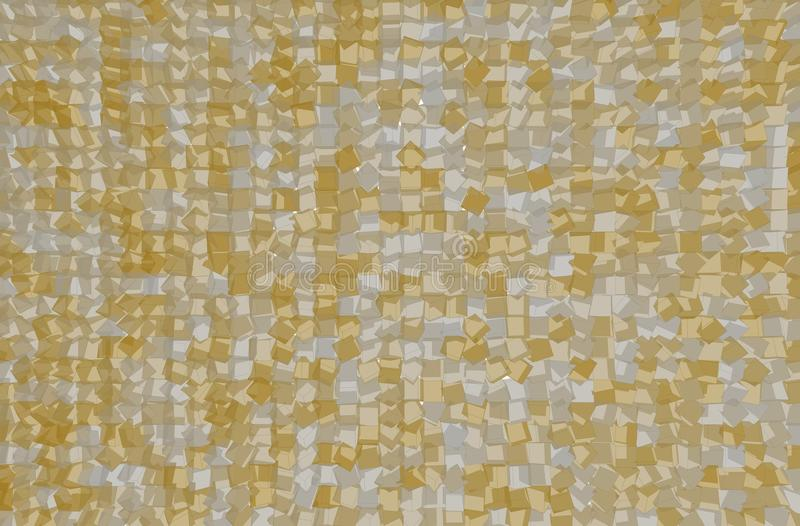 Texture background pattern. Abstract shape, good for design. Mosaic, tiled, collection & decorative. stock illustration