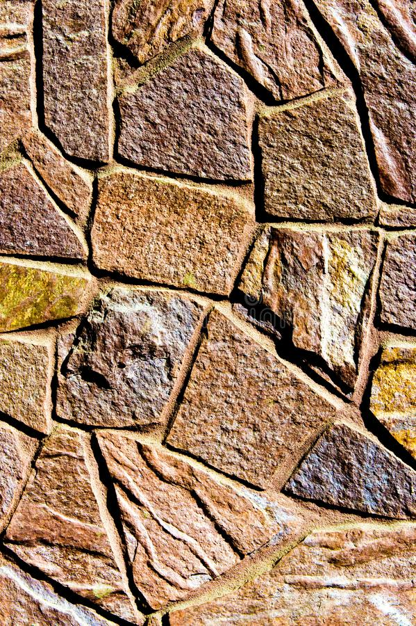 Texture background pattern. Granite stone, sandstone. finishing of buildings fences,  sedimentary rock, consisting of sand or stock image