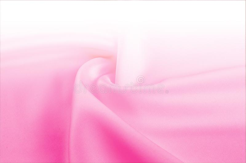 Texture, background, pattern. Light beige, pink shades of silk f stock photography