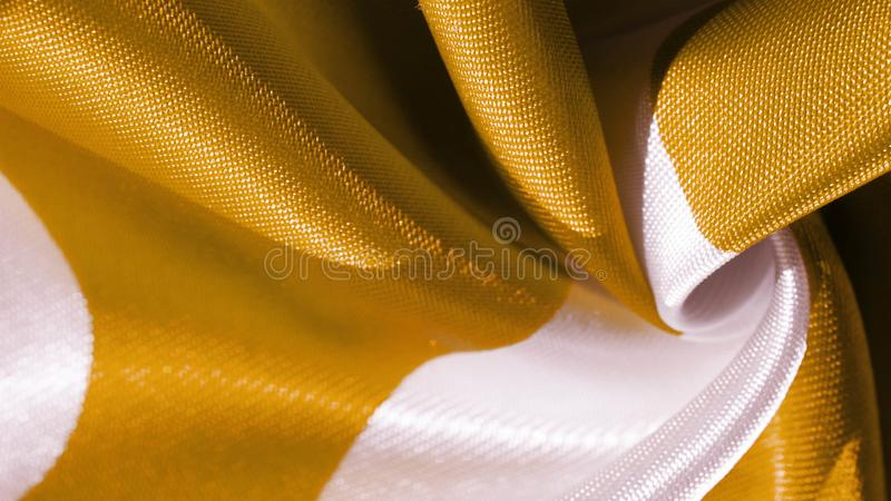 Texture, background, pattern, postcard, silk fabric, yellow sunglow white ovals, your projects will not go unnoticed with this. Fabric, buying this weave will royalty free stock photography