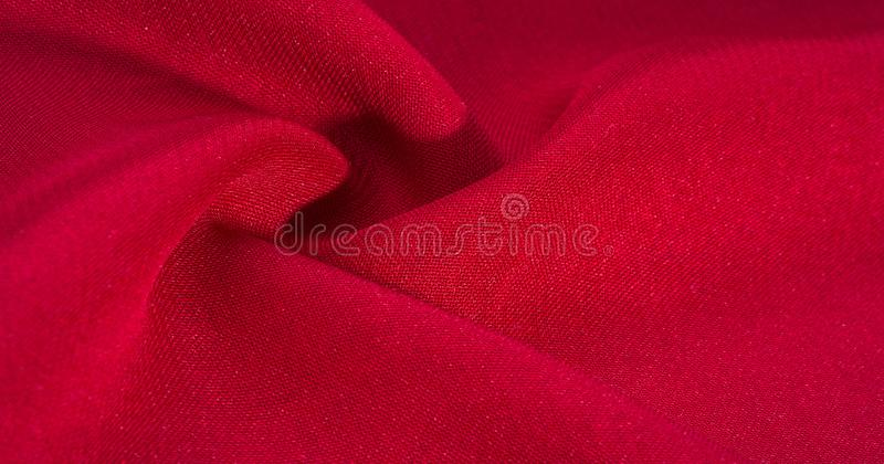 Texture, background, pattern, Red Crimson Silk Fabric This very lightweight rayon fabric has a nice sheen. Perfect for adding. Elegance to your internet decor royalty free stock photography