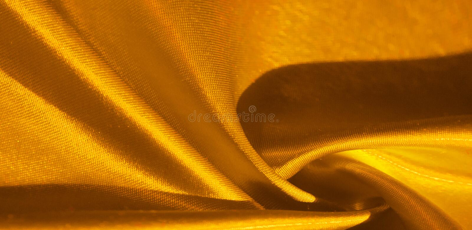 Texture, background, pattern, silk fabric in yellow. This adorable, soft and shiny fabric has a smooth mink surface, perfect for. Creating your projects stock illustration